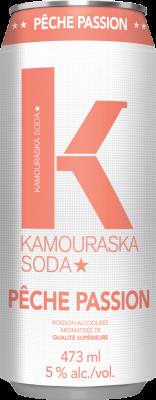 Kamouraska Soda Peach Passion