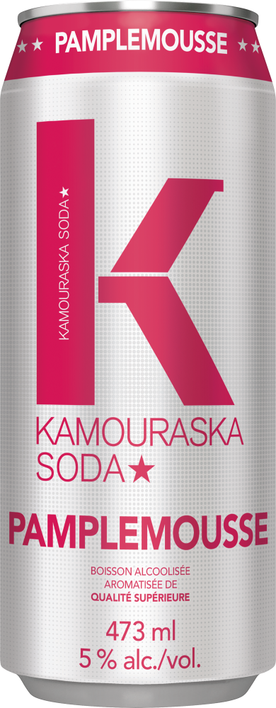 Kamouraska Soda Pink Grapefruit