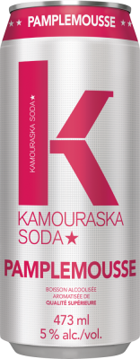 Kamouraska Soda Pamplemousse Rose